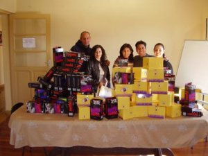 10,000 Condoms and the IDH Prevention Team